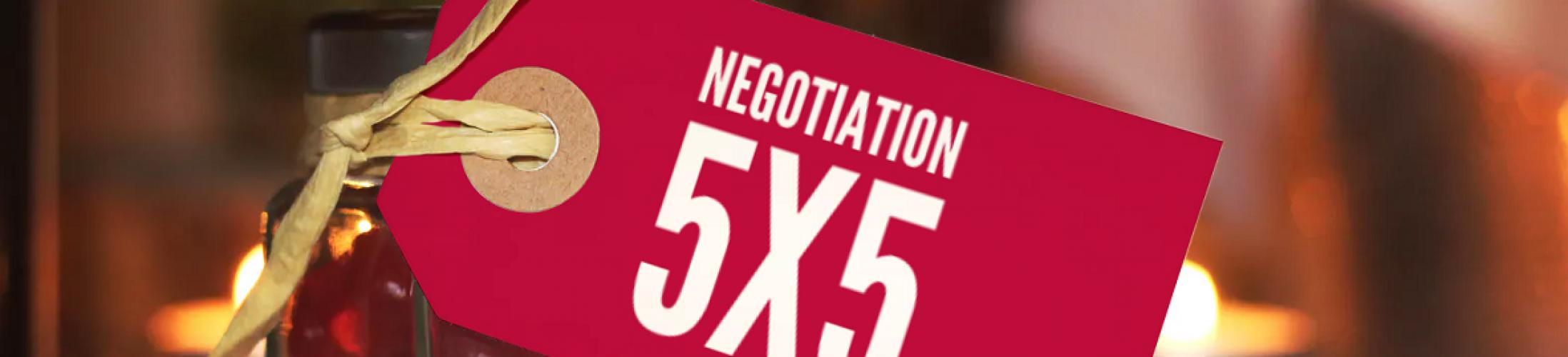 ¿Para qué marearme en negociar si el precioes el justo?